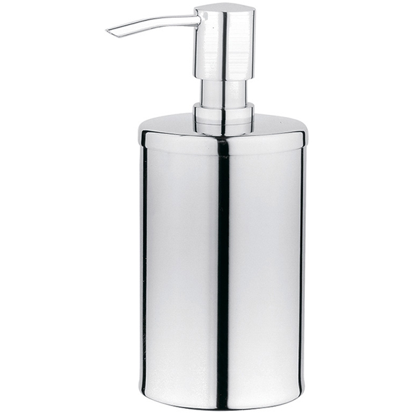 Arkitekt A44367EXP ХромАксессуары для ванной<br>Дозатор для жидкого мыла Vitra Arkitekt A44367EXP.<br>Универсальный и лаконичный дизайн изделия дополнит интерьер любой ванной комнаты.<br>