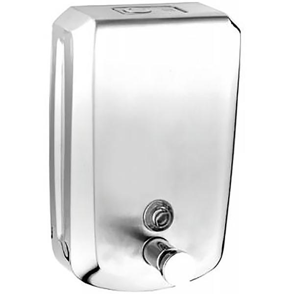 Arkitekt A44505EXP ХромАксессуары для общественных санузлов<br>Дозатор для жидкого мыла Vitra Arkitekt A44505EXP.<br>Универсальный дизайн изделия подойдет для интерьера любого общественного санузла.<br>