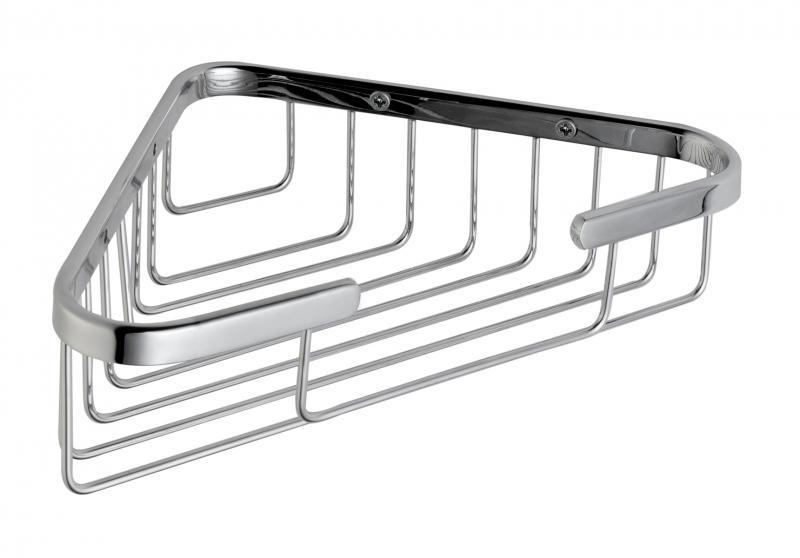 Arkitekt A44380EXP ХромАксессуары для ванной<br>Угловая полочка Vitra Arkitekt A44380EXP.<br>Универсальный и лаконичный дизайн изделия дополнит интерьер любой ванной комнаты.<br>