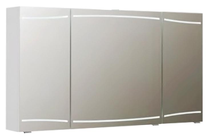 Cassca 09 140 белый глянцевыйМебель для ванной<br>Зеркальный шкаф немецкого качества Pelipal Cassca 09 140, светодиодная подсветка, 3 зеркальные дверцы, 6 стеклянных полок, розетка и выключатель. Цена указана за зеркальный шкаф. Все остальное приобретается дополнительно.<br>