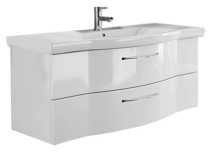 Solitaire 6005 122 белая глянцеваяМебель для ванной<br>Тумба под раковину немецкого качества Pelipal Solitaire 6005 122, 2 выдвижных ящика с ручками. Материалы, из которых изготовлена тумба экологически чистые. Материал фасада - ламинированное МДФ. Цена указана за тумбу. Все остальное приобретается дополнительно.<br>