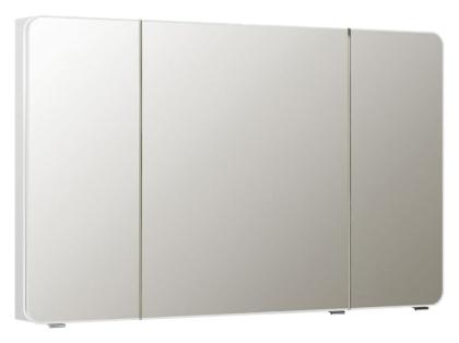 Solitaire 7010 120 белый глянцевыйМебель для ванной<br>Зеркальный шкаф немецкого качества Pelipal Solitaire 7010 120, с фацетом, 3 зеркальные дверцы, 6 стеклянных полок, без подсветки. Цена указана за зеркальный шкаф. Все остальное приобретается дополнительно.<br>
