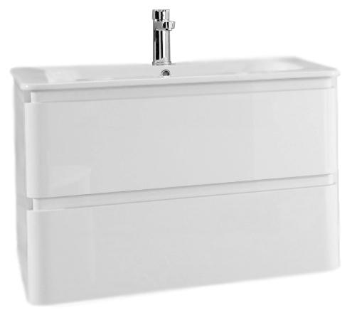 Solitaire 7010 121 белая высокоглянцеваяМебель для ванной<br>Тумба под раковину немецкого качества Pelipal Solitaire 7010 121, 2 выдвижных ящика, верхний ящик с разделителем для косметики. Материалы, из которых изготовлена тумба экологически чистые. Материал фасада - ламинированное МДФ. Цена указана за тумбу. Все остальное приобретается дополнительно.<br>