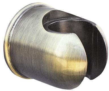 PD0004SM БронзаДушевые гарнитуры<br>Настенный держатель для душа Rav Slezak PD0004SM. Металлический, цвет бронза.<br>
