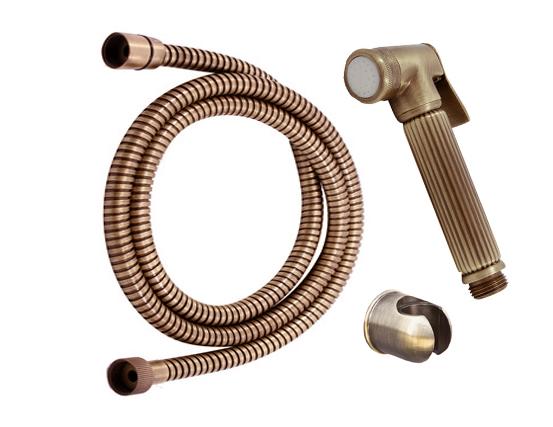 Душевой гарнитур Rav Slezak SK0039SM Бронза набор для биде лейка и шланг raiber r809