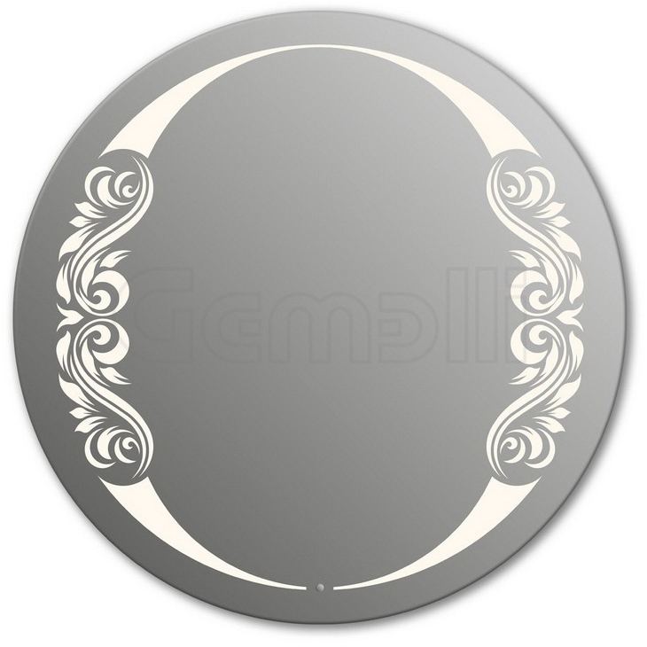 Design D-beauty 2V 115 смМебель дл ванной<br>Зеркало круглой формы из модельного рда Design с фронтальной LED-подсветкой. Толщина зеркала 5-6 мм с превосходным качеством отражени. Оригинальное сочетание формы зеркала и подсветки. Регулируемое крепление зеркала к стене. Выклчатель сенсорный Touchtronic (вклчение касанием) внизу на лицевой панели зеркала. Диаметр зеркала - 115 см, глубина (с учетом монтажного креплени и корпуса) - 4 см.<br>