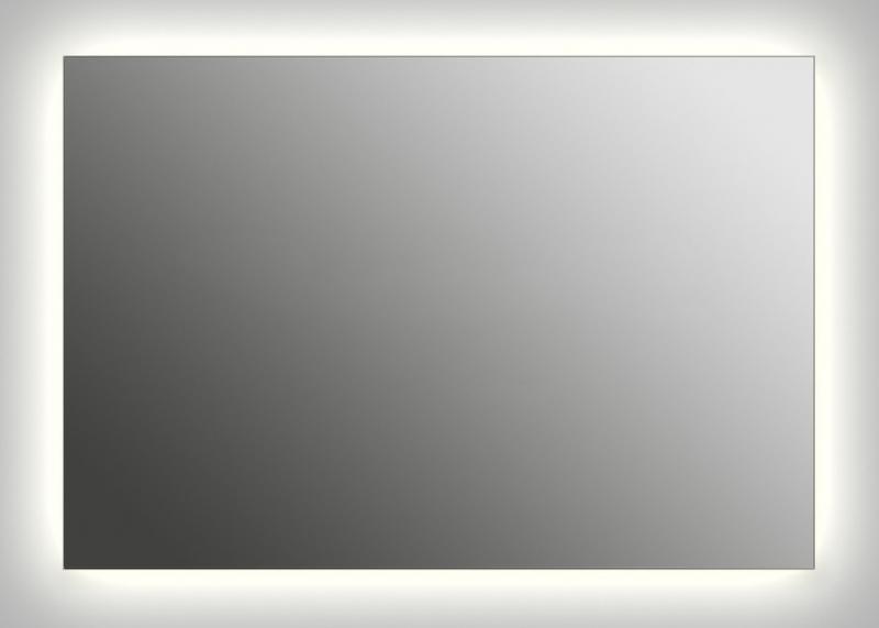 Design Q-contour H800 80x130 смМебель дл ванной<br>Зеркало прмоугольной формы из модельного рда Design с контурной подсветкой. Высота зеркала - 80 см, глубина (с учетом монтажного креплени и корпуса) - 4 см, ширина - 130 см.<br>