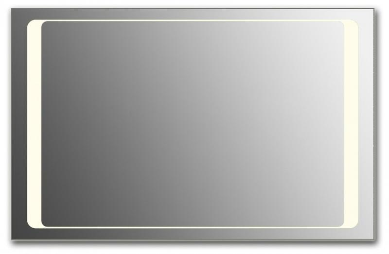 Design Q-unix HS H800 80x125 смМебель для ванной<br>Зеркало прямоугольной формы из модельного ряда Design с фронтальной подсветкой. Высота зеркала - 80 см, глубина (с учетом монтажного крепления и корпуса) - 4 см, ширина - 125 см.<br>