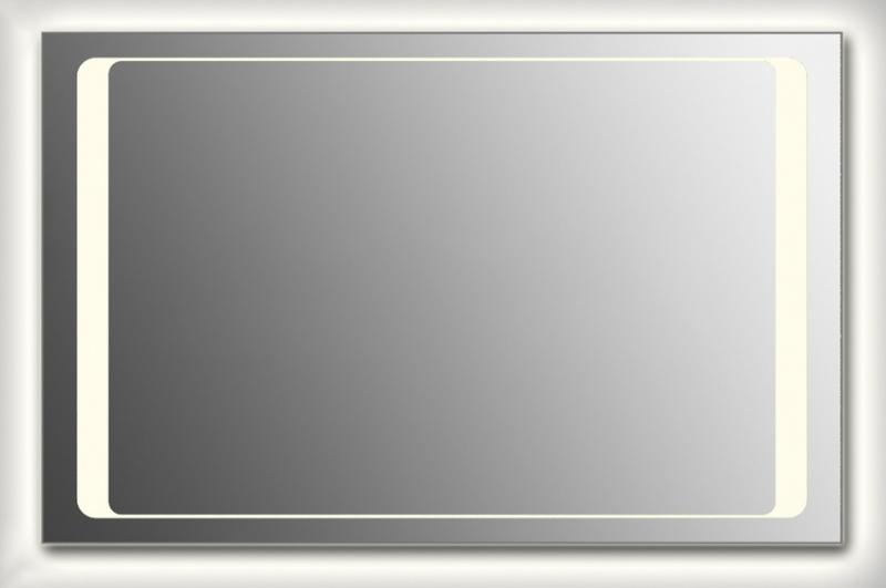 Design Q-unix HS Contour H800 80x140 смМебель для ванной<br>Зеркало прямоугольной формы из модельного ряда Design с фронтальной и контурной подсветкой. Высота зеркала - 80 см, глубина (с учетом монтажного крепления и корпуса) - 4 см, ширина - 140 см.<br>
