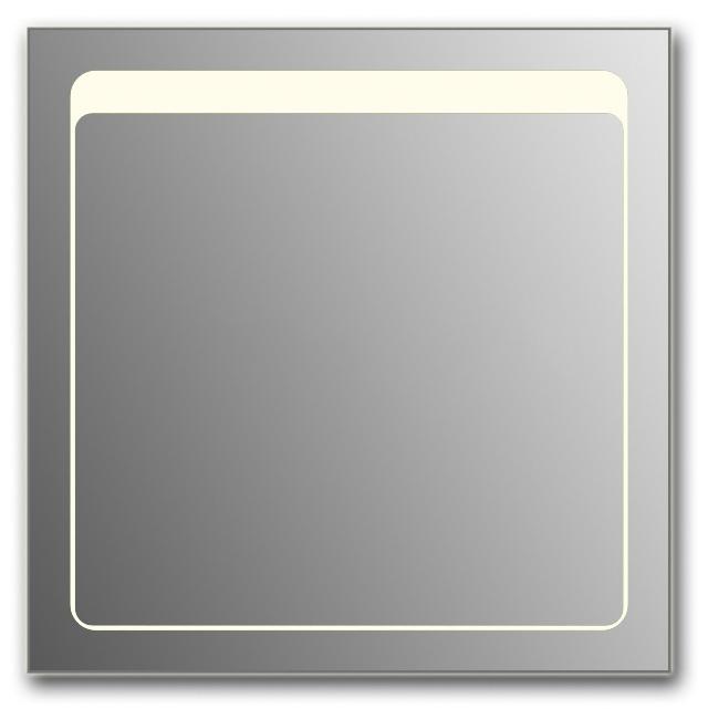 Design Q-unix Top H750 75x80 смМебель для ванной<br>Зеркало прямоугольной формы из модельного ряда Design с фронтальной подсветкой. Высота зеркала - 75 см, глубина (с учетом монтажного крепления и корпуса) - 4 см, ширина - 80 см.<br>