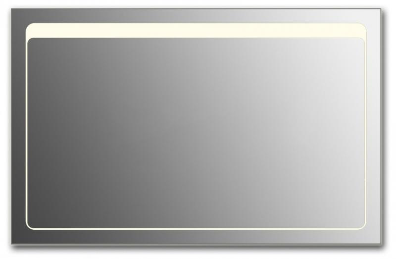 Design Q-unix Top H800 80x125 смМебель для ванной<br>Зеркало прямоугольной формы из модельного ряда Design с фронтальной подсветкой. Высота зеркала - 80 см, глубина (с учетом монтажного крепления и корпуса) - 4 см, ширина - 125 см.<br>