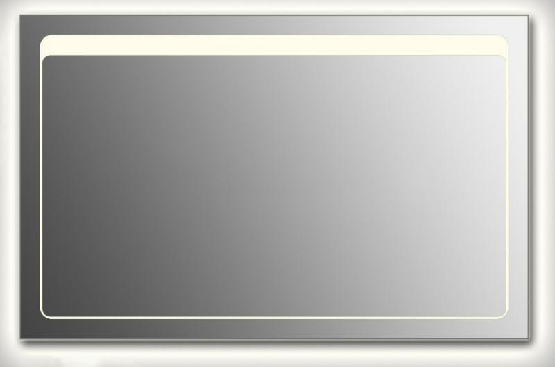 Design Q-unix Top Contour H800 80x125 смМебель для ванной<br>Зеркало прямоугольной формы из модельного ряда Design с контурной и фронтальной подсветкой. Высота зеркала - 80 см, глубина (с учетом монтажного крепления и корпуса) - 4 см, ширина - 125 см.<br>