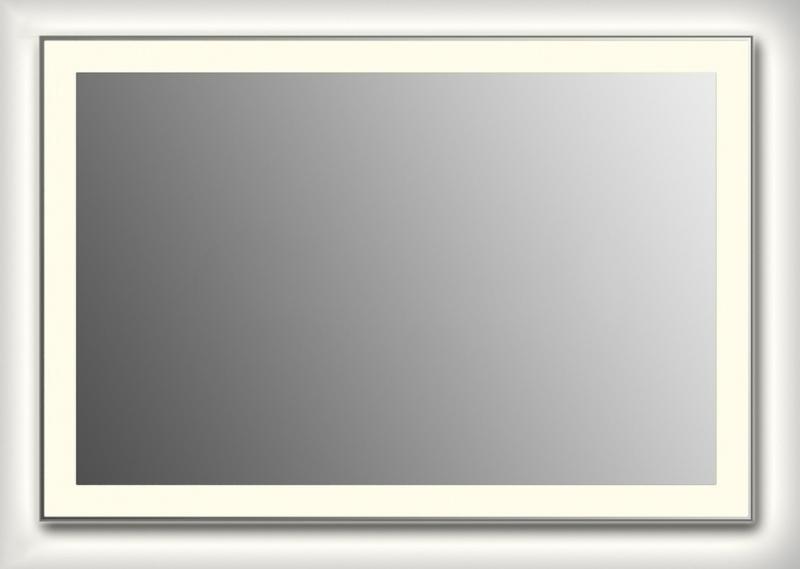 Design Q-strip Contour H800 80x145 смМебель для ванной<br>Зеркало прямоугольной формы из модельного ряда Design с контурной и фронтальной подсветкой. Высота зеркала - 80 см, глубина (с учетом монтажного крепления и корпуса) - 4 см, ширина - 145 см.<br>