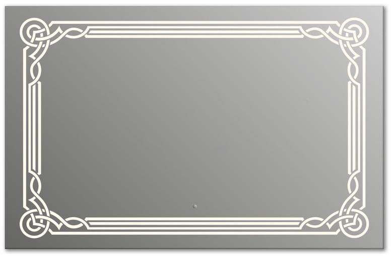 Design Q-orient H750 75x105 смМебель для ванной<br>Зеркало прямоугольной формы из модельного ряда Design с фронтальной подсветкой. Высота зеркала - 75 см, глубина (с учетом монтажного крепления и корпуса) - 4 см, ширина - 105 см.<br>
