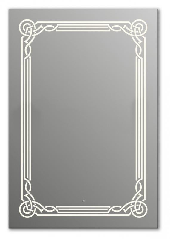 Design Q-orient H1000 100x75 смМебель для ванной<br>Зеркало прямоугольной формы из модельного ряда Design с фронтальной подсветкой. Высота зеркала - 100 см, глубина (с учетом монтажного крепления и корпуса) - 4 см, ширина - 75 см.<br>