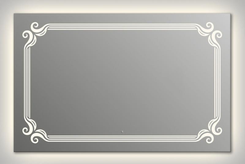 Design Q-de Paris Contour H800 80x140 смМебель для ванной<br>Зеркало прямоугольной формы из модельного ряда Design с контурной и фронтальной подсветкой. Высота зеркала - 80 см, глубина (с учетом монтажного крепления и корпуса) - 4 см, ширина - 140 см.<br>