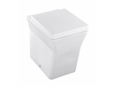 Reve E4813 БелыйУнитазы<br>Унитаз напольный Jacob Delafon Reve E4813, с горизонтальным выпуском, в комплекте: чаша унитаза и крышка-сиденье с микролифтом. Механизм слива определяется системой инсталляции.<br>