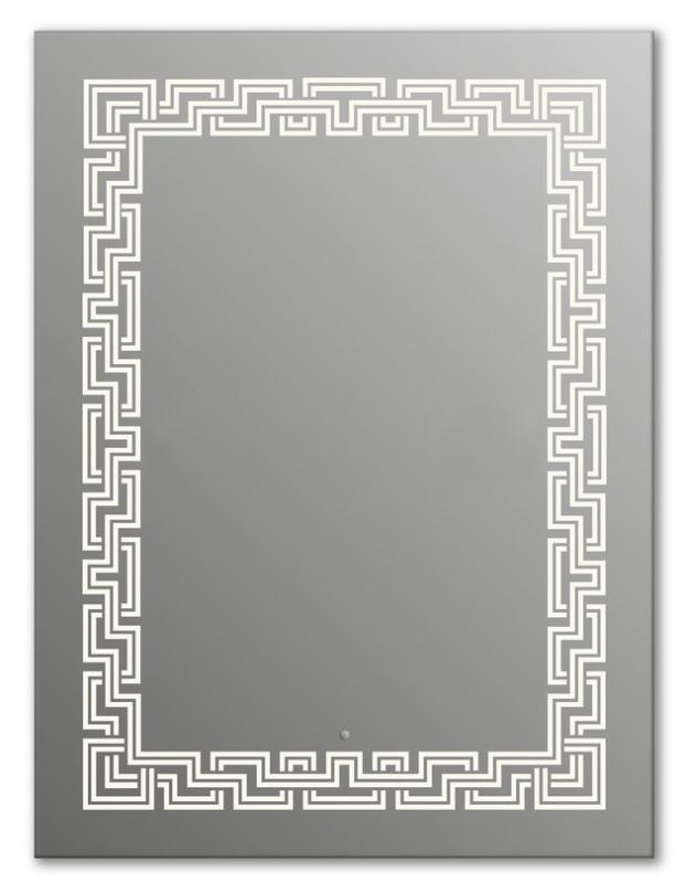 Design Q-zeus H1000 100x75 смМебель для ванной<br>Зеркало прямоугольной формы из модельного ряда Design с фронтальной подсветкой. Высота зеркала - 100 см, глубина (с учетом монтажного крепления и корпуса) - 4 см, ширина - 75 см.<br>