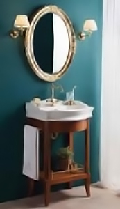 Валенсия 60 ANTICO light vintage (B 043)Мебель для ванной<br>Мебель для ванной Каприго Валенсия 60. В стоимость входит тумба-консоль для раковины. Размеры – 616x995x510 мм. Отделка – ANTICO light vintage.<br>
