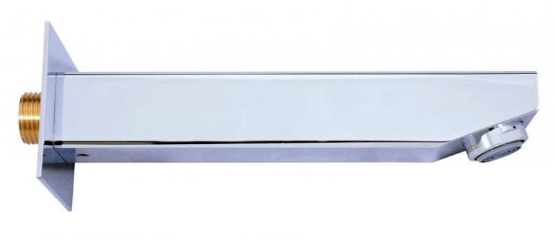 Loira TLR001 ХромСмесители<br>Излив латунный Rav Slezak Loira TLR001 для раковины и ванной. Длина 172 мм. Цвет хром.<br>