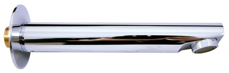 Seina TSE001 ХромСмесители<br>Излив латунный Rav Slezak Seina TSE001 для раковины и ванной. Длина 172 мм. Цвет хром.<br>