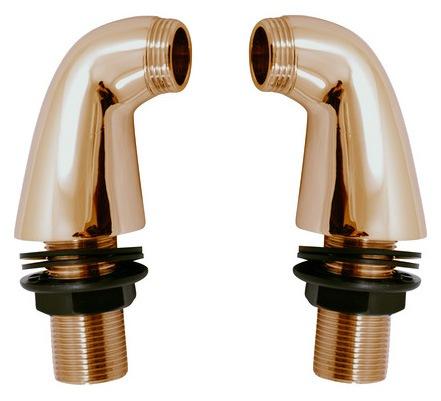 MD0234SM БронзаДушевые гарнитуры<br>Переходники Rav Slezak MD0234SM для установки смесителя на борт ванны. В комплекте 2 переходника. Высота - 7 см. Впуск - 3/4. Выпуск - 3/4. Цвет бронза.<br>