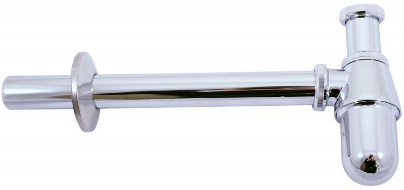 MD0545 ХромКомплектующие<br>Сифон для раковины Rav Slezak MD0545. Гайка для подключения слива раковины 5/4. Водосточная труба диаметром 32 мм. Цвет хром.<br>