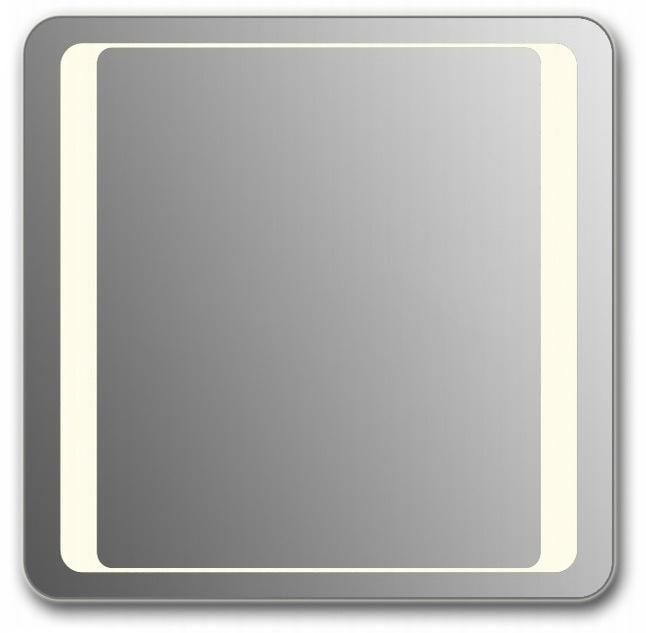 Design QR-unix HS H750 75x100 смМебель для ванной<br>Зеркало прямоугольной формы со скругленными углами из модельного ряда Design с фронтальной Led-подсветкой. Высота зеркала - 75 см, глубина (с учетом монтажного крепления и корпуса) - 4 см, ширина - 100 см.<br>