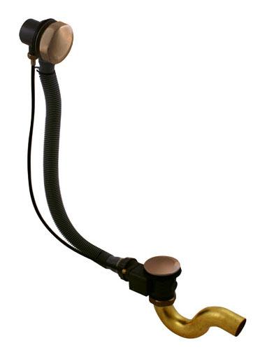 MD0588SM Бронза/ЧерныйКомплектущие<br>Слив-перелив дл ванны Rav Slezak MD0588SM. Длина 600-680 мм. Цвет бронза, черный.<br>