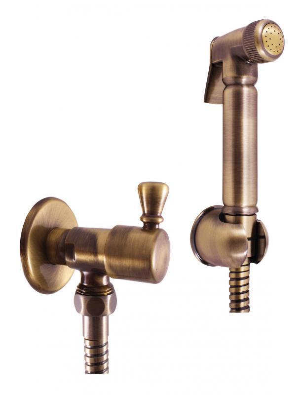 """Morava Retro MK548SM БронзаСмесители<br>Смеситель Rav Slezak Morava Retro MK548SM для биде. В комплектацию входит: смеситель для биде, вентиль с керамической головкой 1/2""""x1/2"""", гигиенический душ со стоп вентилем, шланг 150 см, металлический держатель.<br>"""