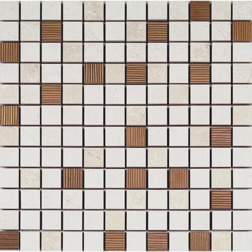 Vitreous ceramic tile