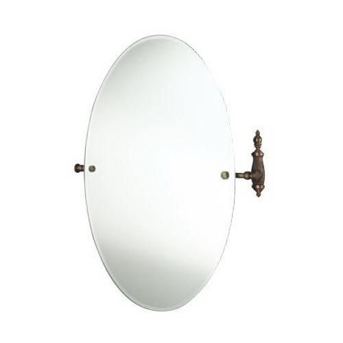 Retro Opal OP021br БронзаАксессуары для ванной<br>Зеркало круглое Allpe Retro Opal OP021br, цвет держателя бронза.<br>