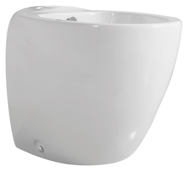 Clas+ CLP 500/M bianco lucidoБиде<br>Биде напольное Azzurra Clas+ CLP 500/M с мягкими линиями. Создает иллюзию уменьшенного объема и напоминает невесомое облачко. Одно отверстие для смесителя выбито. В комплекте: биде и набор креплений.<br>