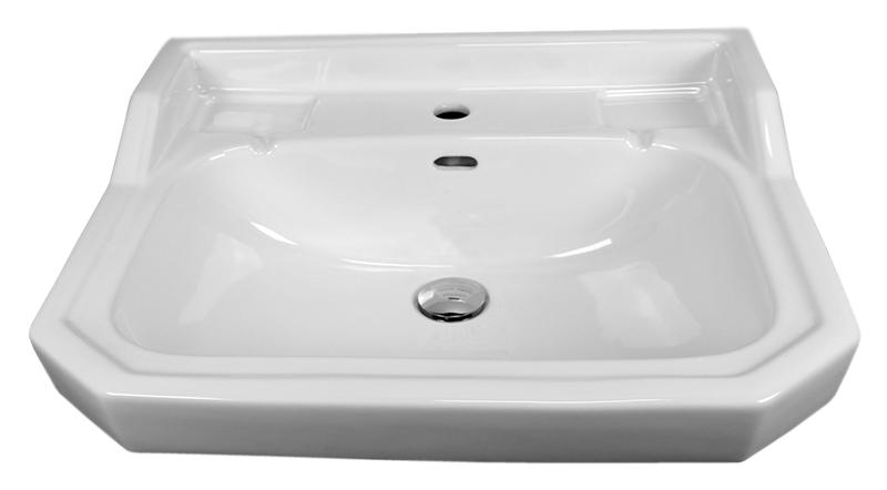 Giunone GIU200 60/ME bianco lucidoРаковины<br>Раковина Azzurra Giunone GIU200 60/ME с белоснежной глянцевой керамикой выполнена в стиле Викторианской эпохи, но при этом может сочетаться как с современным так и с ретро дизайном ванной комнаты. Одно отверстие для смесителя выбито. По желанию можно приобрести пьедестал для раковины. Цена указана за раковину. Все остальное приобретается дополнительно.<br>