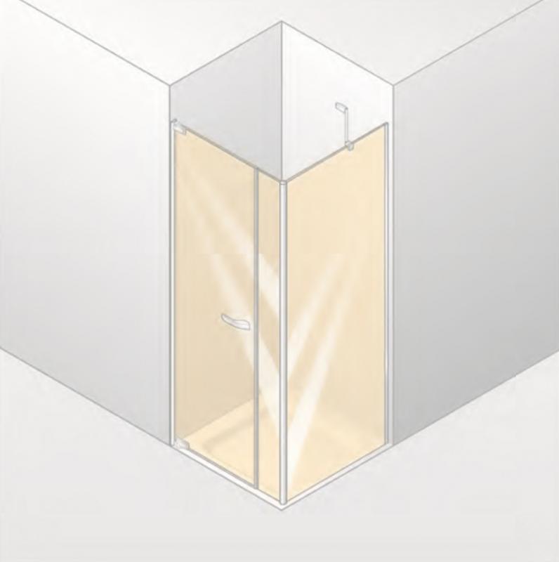 Paris 90х90 PT0159.C91.388 Хром/Хром/ПрозрачныйДушевые ограждения<br>Душевой уголок Huppe Paris 90х90 PT0159.C91.388. Распашная дверь с неподвижным сегментом и боковой стенкой. Открывается вовнутрь и наружу более чем на 90&amp;#186;. Крепление двери справа, цвет профиля - матовый хром, Inlay-цвет - хром, стекло прозрачное с хромовым декором Sign Anti-Plaque. Общие размеры:<br>- Ширина: 90 см.<br>- Высота установки: 200 см.<br>- Толщина стекла: 8 мм.<br>5-мм подъемно-опускающие шарниры для прочного закрытия двери. Инновационные хромированные уплотнительные планки. Внутренние плоские шарниры и настенные уголки. Легкость уплотнения благодаря совершенно плоским внутренним настенным уголкам.<br>