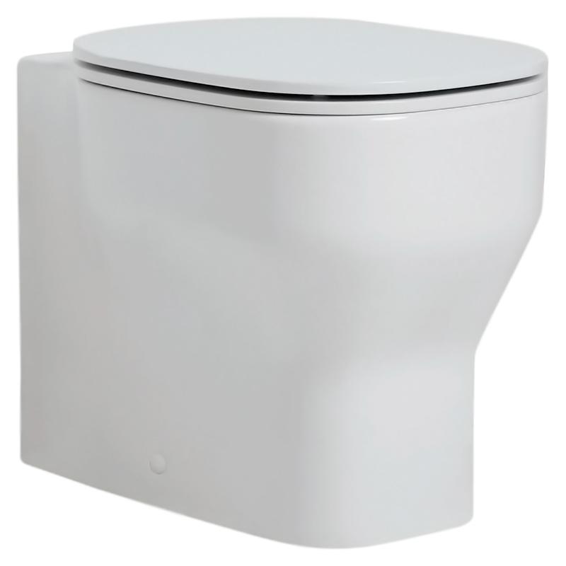Glaze GLZ100/P bianco lucidoУнитазы<br>Унитаз приставной Azzurra Glaze GLZ100/P выполнен в строгом и аккуратном стиле. Слив направлен в стену. В комплекте: чаша унитаза и набор креплений к полу.<br>