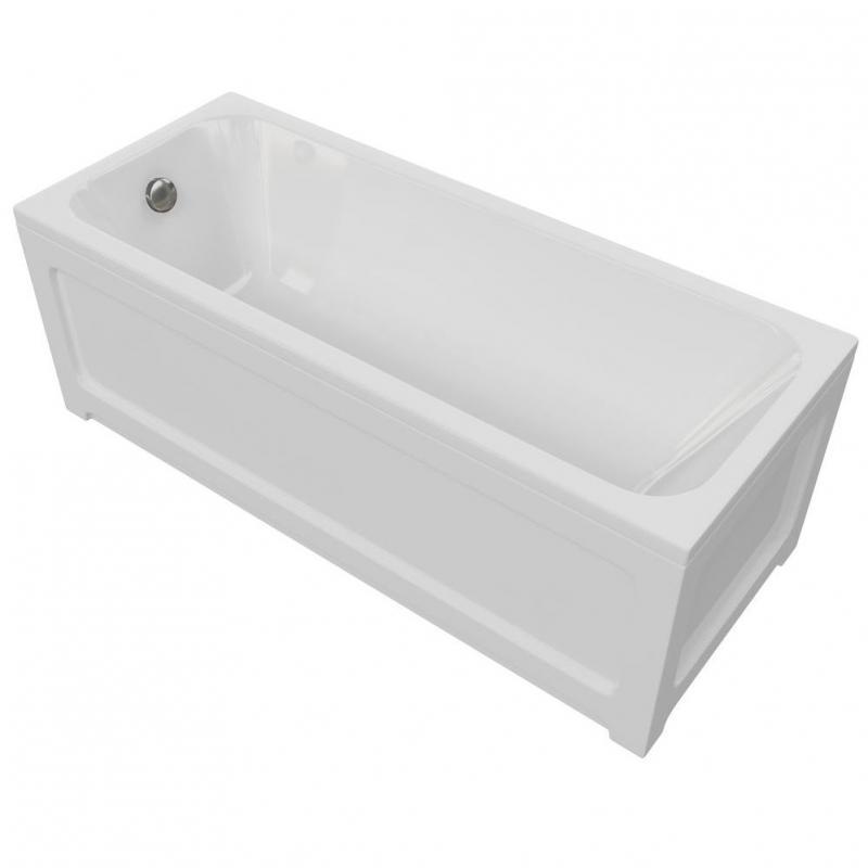 Миа 150x70 БелаяВанны<br>Акриловая ванна Aquatek Миа 150x70 прямоугольная, белая.<br>