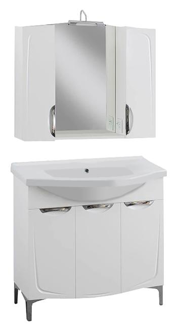 Иматра 90 БелаяМебель для ванной<br>Тумба под раковину Aqualife Design Иматра 90, без ящиков, с бельевой корзиной. Стоимость указана только за тумбу. Дополнительно вы можете приобрести раковину, шкаф-пенал и зеркало.<br>