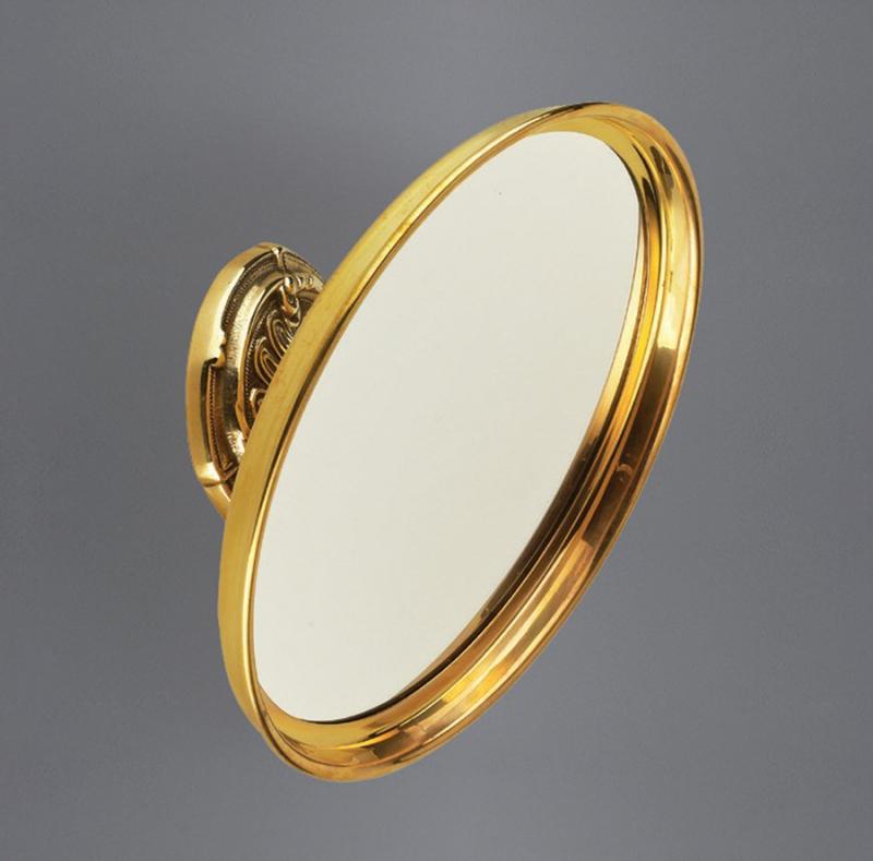 Barocco AM-1790-Cr ЗолотоАксессуары для ванной<br>Увеличительное зеркало Art&amp;Max Barocco AM-1790-Do подвесное. Цвет изделия - золото.<br>
