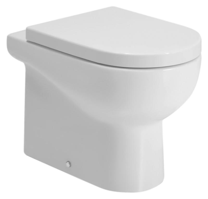 Nuvola NUV100/P bianco lucidoУнитазы<br>Унитаз приставной Azzurra Nuvola NUV100/P с белоснежной глянцевой керамикой кажется простым на вид, но скрывает оригинальный и продуманный дизайн. Какой бы ни была по площади ванная комната - унитаз, а может и в сочетании с моделями своей коллекции, создаст функциональный и уютный современный интерьер. Цена указана за чашу унитаза и комплект крепления к полу VFV. Все остальное приобретается дополнительно.<br>