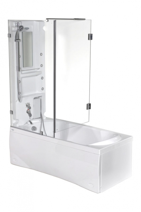 Box Prima-C без гидромассажаДушевые боксы<br>Box Prima-C душевой бокс. Стоимость указана за ванну на раме со сливом переливом. Фурнитура хром.<br>