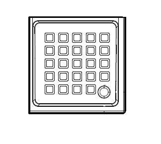 Retro 1338 900 ммДушевые поддоны<br>Душевой поддон Kerasan Retro 1338. Слив, сифон приобретается отдельно.<br>
