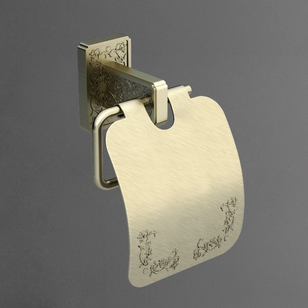 Gotico AM-4883AQ БронзаАксессуары для ванной<br>Настенный держатель для туалетной бумаги Art&amp;Max Gotico AM-4883AQ.<br>