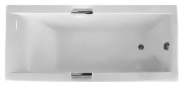 Александрия 160 белаяВанны<br>Ванна акриловая Triton Александрия 160 с лаконичной формой и прямыми кромками бортов придаст строгий и стильный вид ванной комнате. Очень удобная эргономика спинки. Широкие бортики для хранения ванных принадлежностей. Металлические хромированные ручки, для безопасности приема ванны, смотрятся как изысканное украшение. Рифленое дно. Стальной оцинкованный каркас, полуавтоматический слив - перелив. Акрил из которого сделана ванна - стойкий материал, не подверженный растрескиванию и появлению сколов. В комплект поставки входят: чаша ванны, каркас, слив-перелив, хромированные ручки 2 шт.<br>