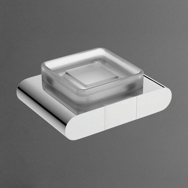 Platino AM-3999AL ХромАксессуары для ванной<br>Мыльница настенная Art&amp;Max коллекция Platino для мыла. Покрытие подставки хром.<br>