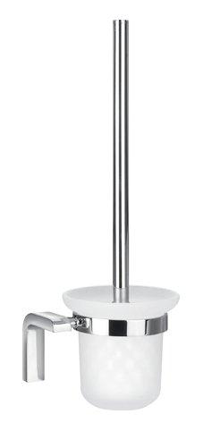 Ultima AM-F-8932 ХромАксессуары для ванной<br>Туалетный ершик Ultima AM-F-8932 итальянского бренда Art&amp;Max. Идеальное сочетание прочного матового стекла и глянцевых хромированных деталей.<br>