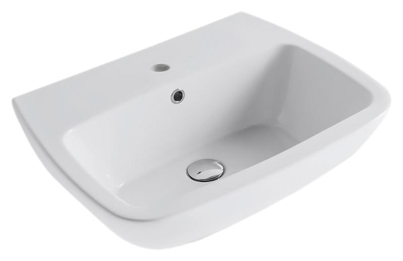 Daily DA060 bianco lucidoРаковины<br>Раковина подвесная Globo Daily DA060 белая глянцевая. Мягкие и решающие формы умывальника этой коллекции наполняют функциональностью, красотой и вдохновением такое важное место для ухода за телом, как ванная комната, где начинается и заканчивается наш день. В комплекте поставки: раковина и комплект креплений.<br>