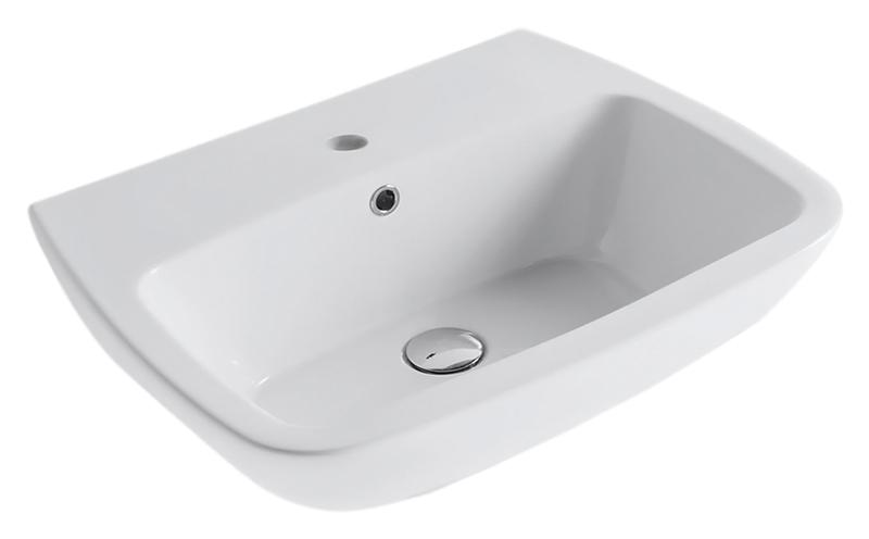 Daily DA065 bianco lucidoРаковины<br>Раковина подвесная Globo Daily DA065 белая глянцевая. Мягкие и решающие формы умывальника этой коллекции наполняют функциональностью, красотой и вдохновением такое важное место для ухода за телом, как ванная комната, где начинается и заканчивается наш день. В комплекте поставки: раковина и комплект креплений.<br>