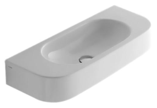 Раковина Globo Forty3 SCT70 bianco lucido, без отверстий под смеситель SCT70.BI*0