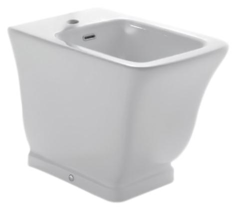 Relais RE009 bianco lucidoБиде<br>Биде напольное Globo Relais RE009 белое глянцевое с одним отверстием под смеситель. Дизайн биде коллекции Relais выражает виденье современной ванной комнаты в полной гармонии функциональности и эстетики. Изделие сохраняет стиль прошлого, и в тоже время футуристически интерпретировано, сопровождается чистыми и строгими формами, навевая желание простоты и ясности. В комплекте поставки: чаша биде и комплект креплений к полу.<br>